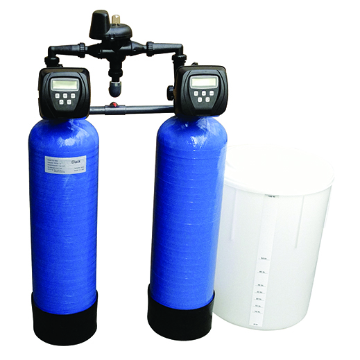 Zmäkčovač vody pripojiť potrubia