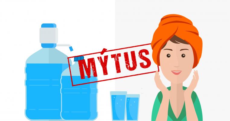Vďaka nadmernému pitiu vody, budete mať krajšiu pokožku? Mýtus!