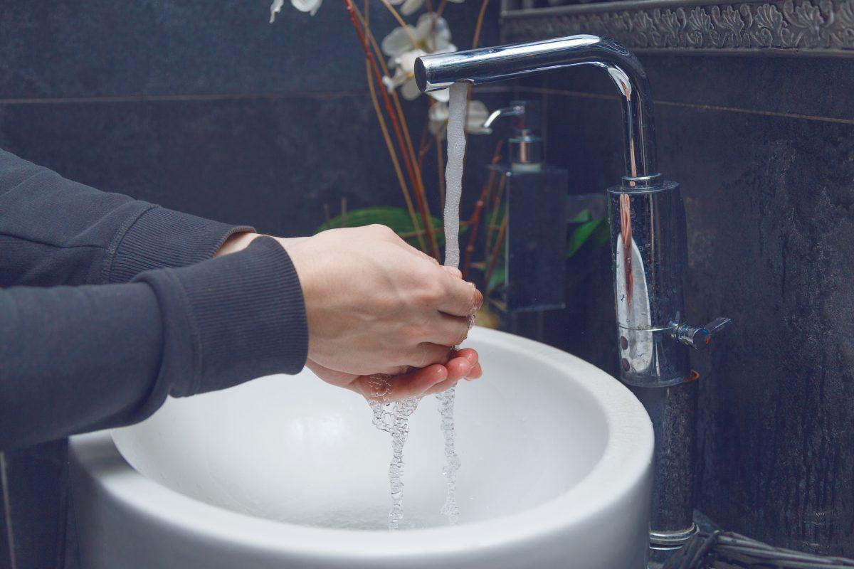 Umývanie rúk.