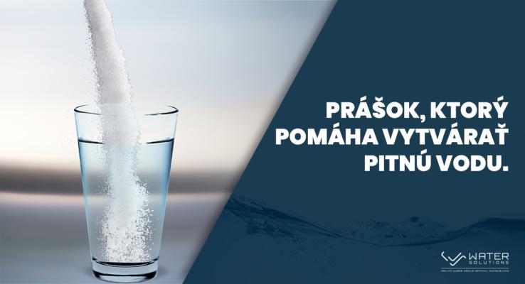 Prášok, ktorý čistí pitnú vodu, takto mení životy ľudí