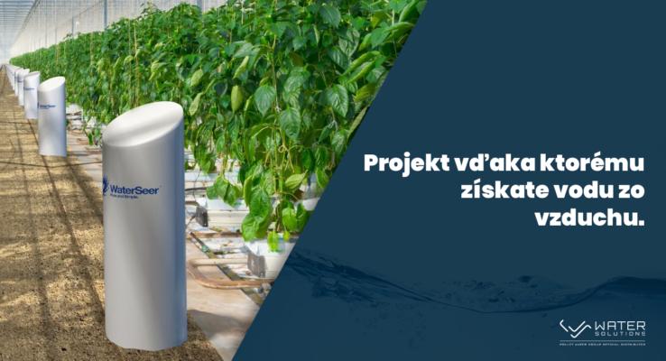 Projekt vďaka, ktorému získate vodu zo vzduchu