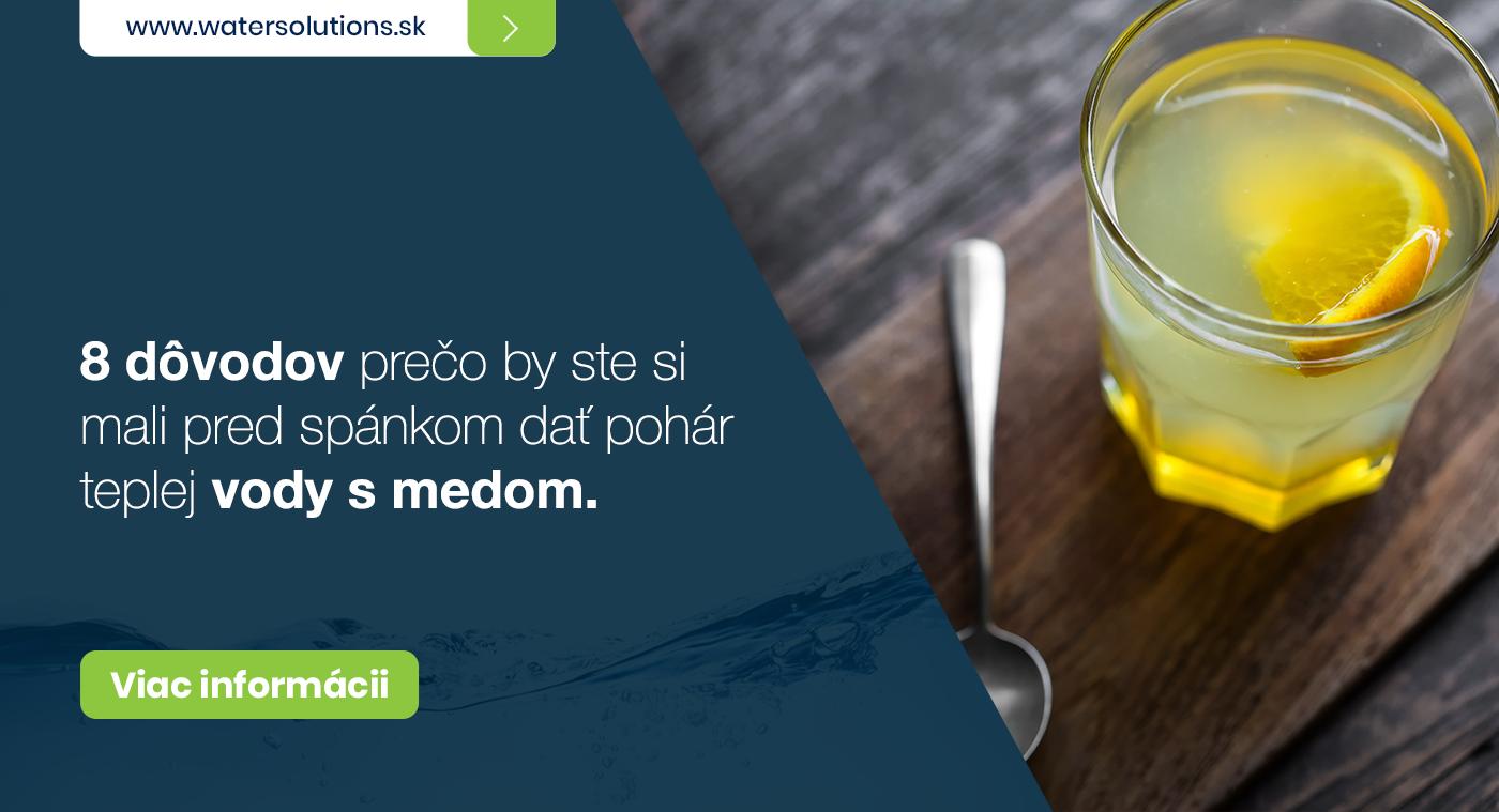 8 dôvodov prečo by ste si mali pred spánkom dať pohár teplej vody s medom