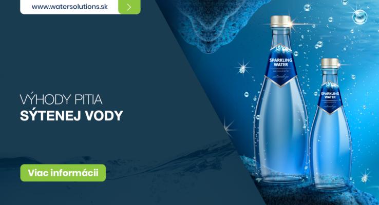 Výhody sýtenej vody